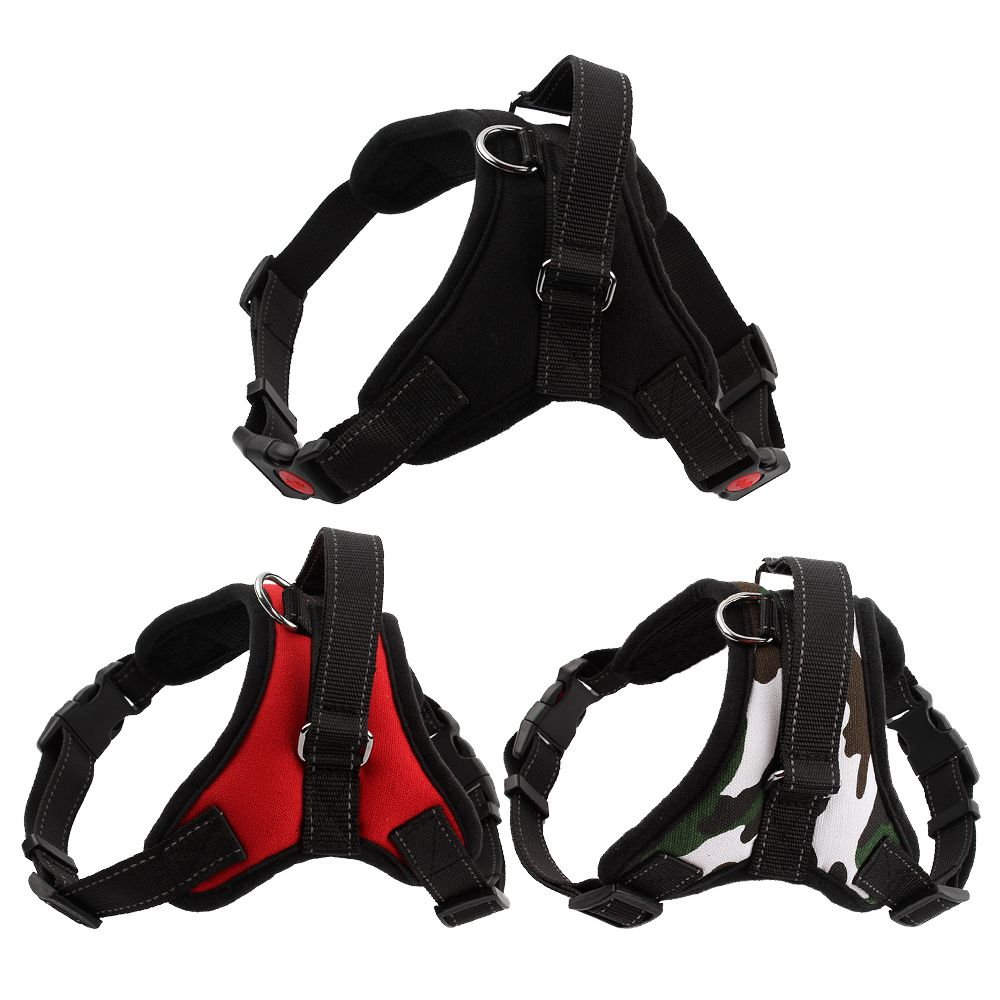 New Arrival Comfortable Pet Dog Harness Matched Leashes Adjustable O Styles Medium Large Dog Pet Vest Harness