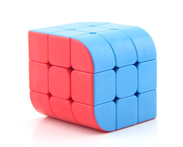 Fanxin Penrose cube Stickerless Cubo Magico Trihedral Cube Gift Idea Educational Toy  Drop Shipping