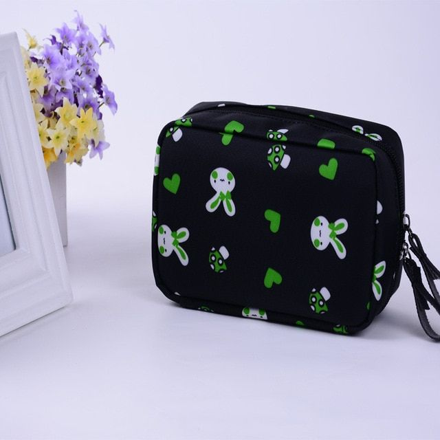 2017 New Arrivals Women Waterproof Travel Zipper Cosmetic Bag Female Professional Makeup Case Organizer Handbag Beauty Bag Pouch