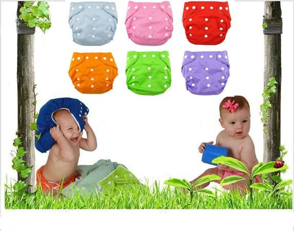 Newborn Baby Diapers Shorts Washable Reuseable Adjustable Diaper Nappies Inserts Toddler Kid Diaper Waterproof Changing Mat