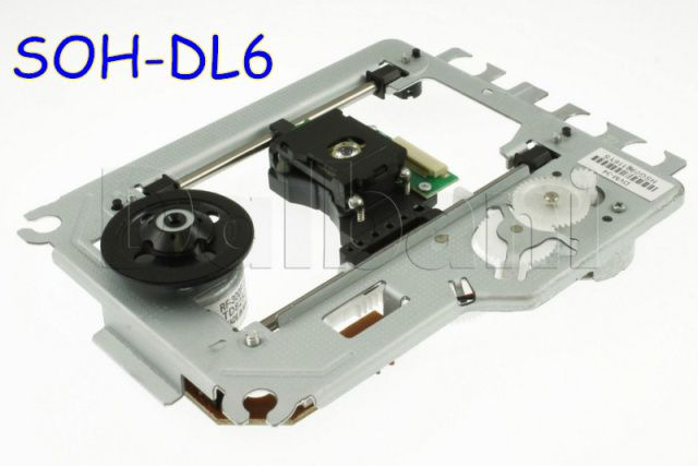 Brand  New SOH-DL6  DL6 Laser Lens Lasereinheit  Optical Pick-ups Bloc Optique with Mechanism DV34