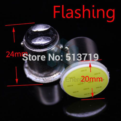 2014 new 10X Flashing P21/4W P21/5W 1157 BAY15D 1COB Car LED Brake Turn Light Automobile auto Wedge Lamp xenon white Car Styling