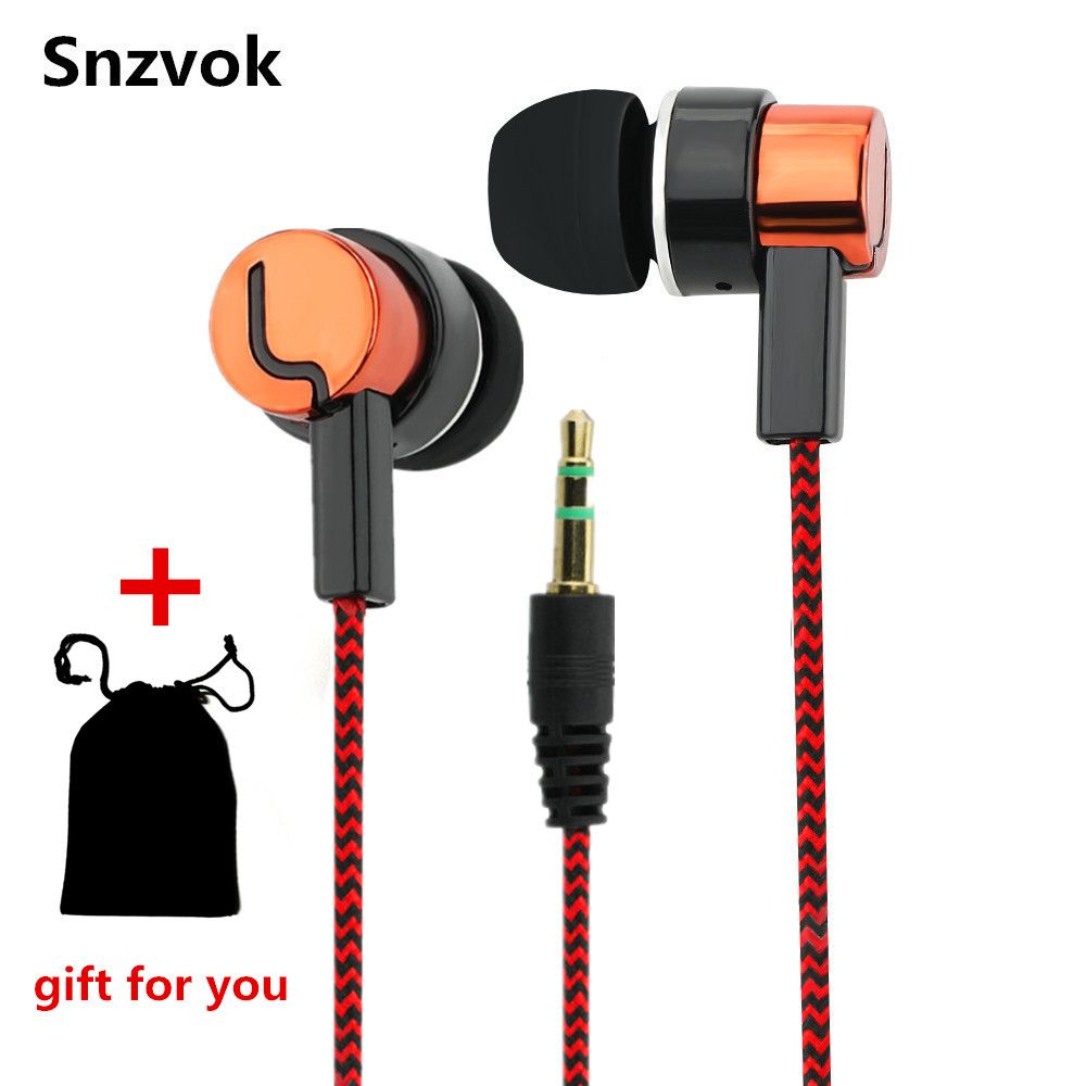2017 New 3.5mm Stereo In-ear Earbuds Earphone for Mobile Phone tablets MP3 players for Samsung For iPhone for Huawei For Xiao Mi