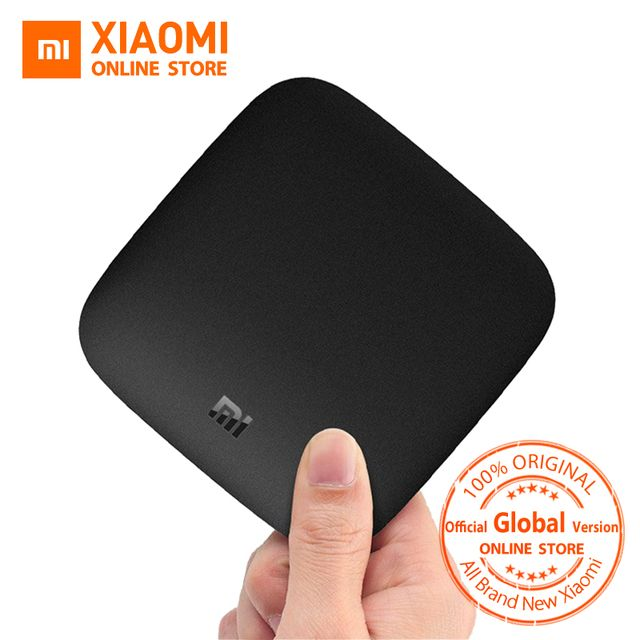 Global Verison Xiaomi Mi Box 3 Android TV 6.0 Box Amlogic S905X Quad core Cortex-A53 2GB 2.4/ 5G WIFI 802.11a/b/g/n/ac Android