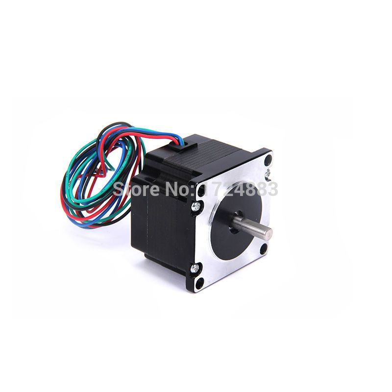 High torque 57 Stepper Motor 2 PHASE 4-lead Nema23 motor 57BYGH14 40.5MM 2.4A 0.64N.M LOW NOISE (23HS1401)  motor for CNC XYZ