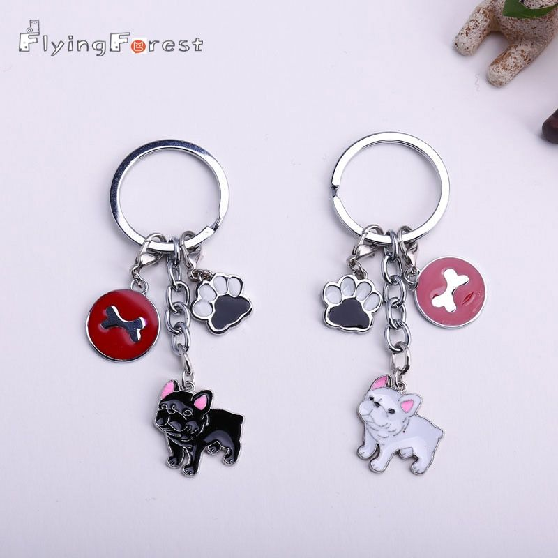Keychain Cute Keychain Anime Keychain Dogs Key Ring Jewelry Women Bag Charm Keychain Boyfriend Gift Pendant Bag Charm Gift