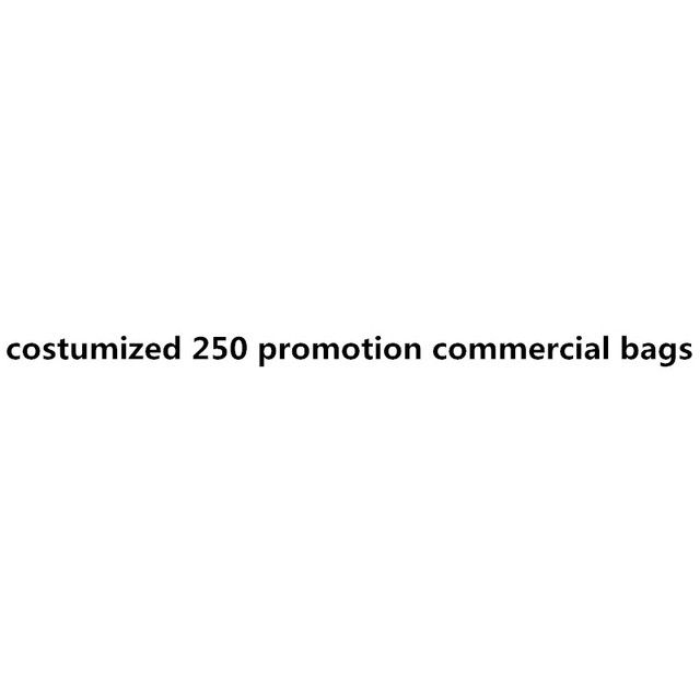 250pieces commerical bags