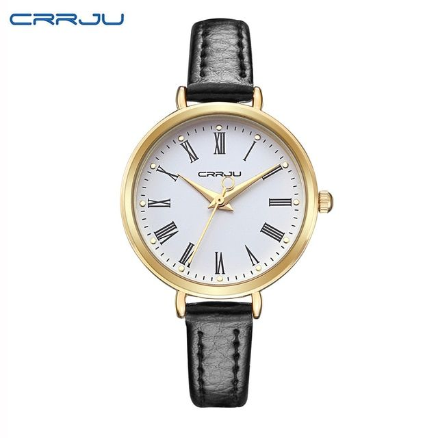 Luxury Leather Women Dress Watches Wristwatch Fashion Women Ladies Bracelet Watch Female Round Clock Quartz Watch