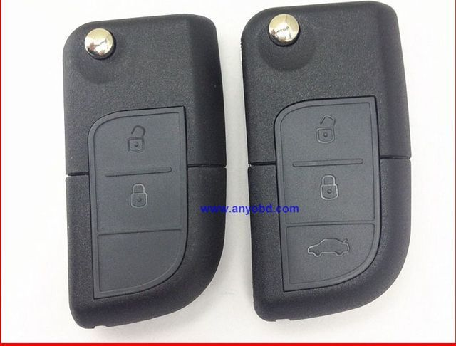 for Changan CX20 , Alsvin flip remote key control 433mhz