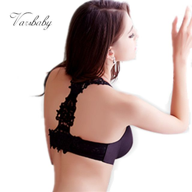 New Y type bra smooth piece Seamless gather sexy lingerie lace halter Backless Bra