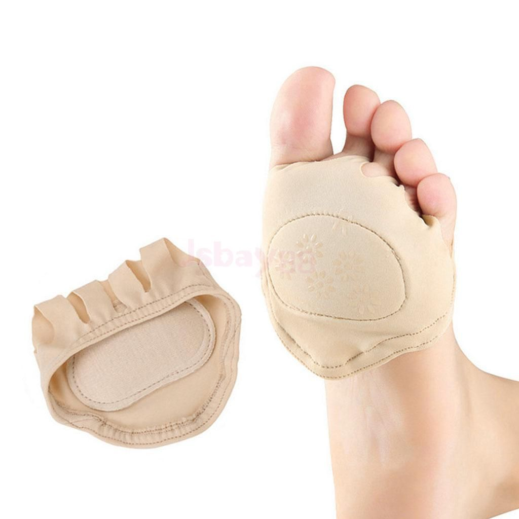 1 Pair Forefoot Metatarsal Pain Relief Cushion Ball of Foot Pads Cushions soothes prevents calluses Worn comfortably