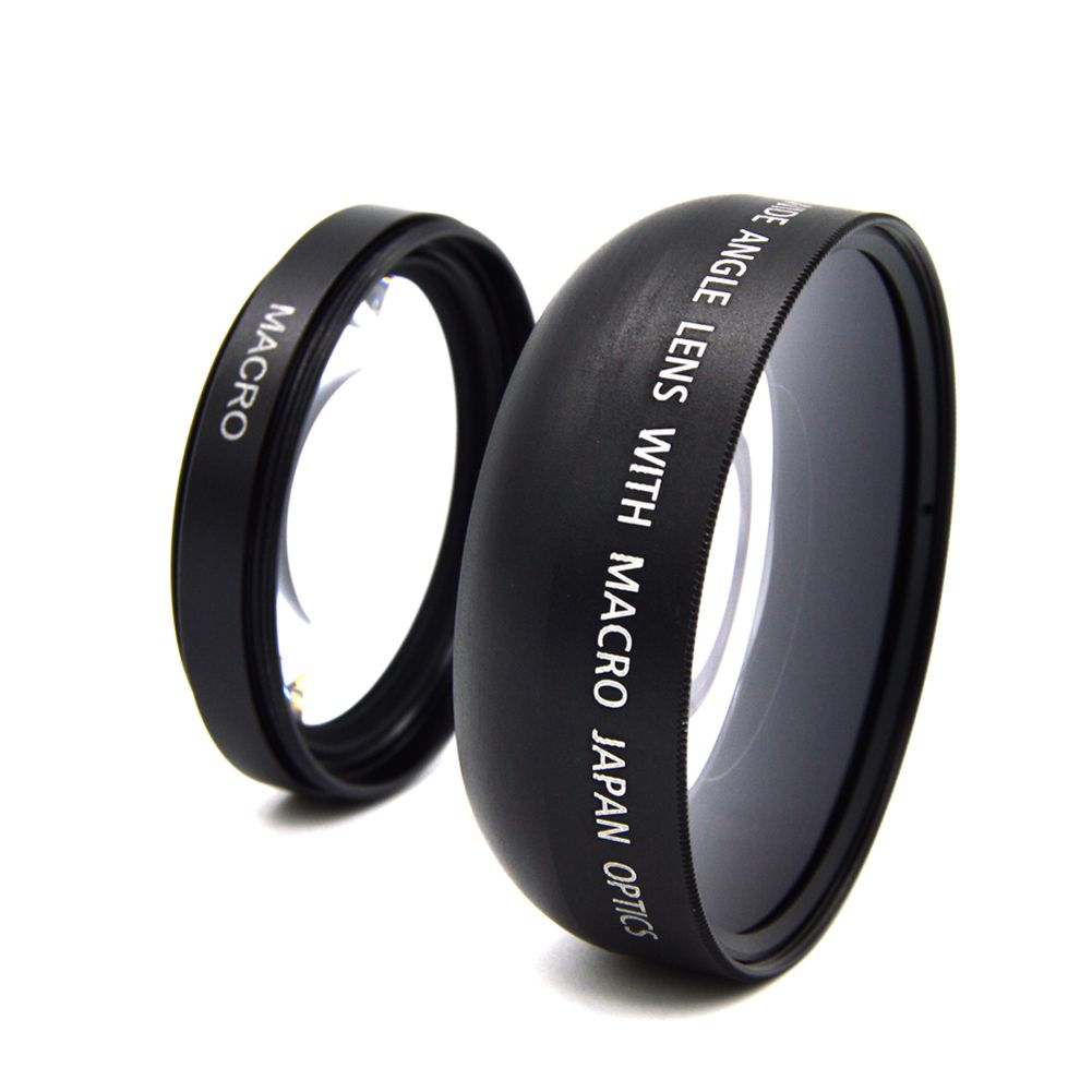 49mm 0.45x Wide Angle Camera Lens With Macro Lens For Sony Alpha NEX-3 NEX-5 NEX-5N For Sony Alpha A3000