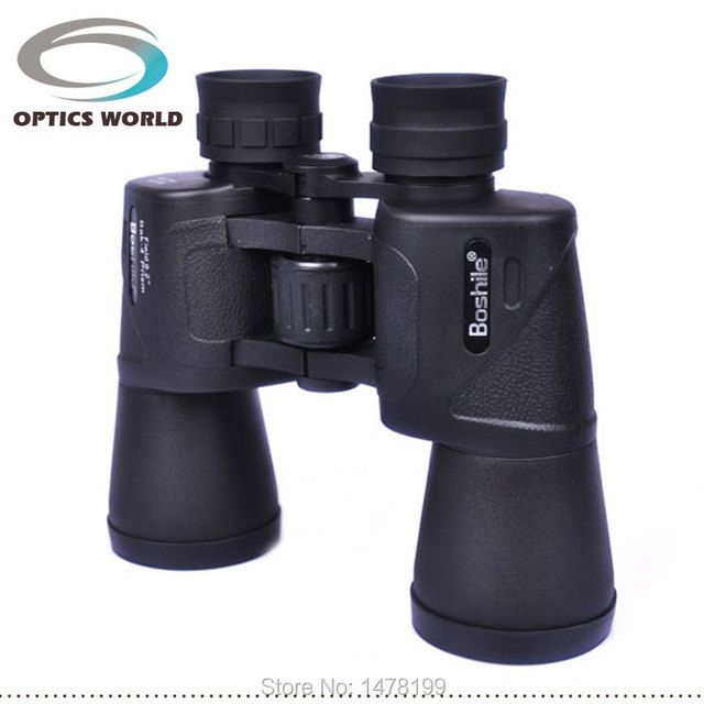 Binoculars telescope Boshile 16X50 Central Zoom day and Night Vision High quality Hd wide-angle Not infrared bak4 Professional