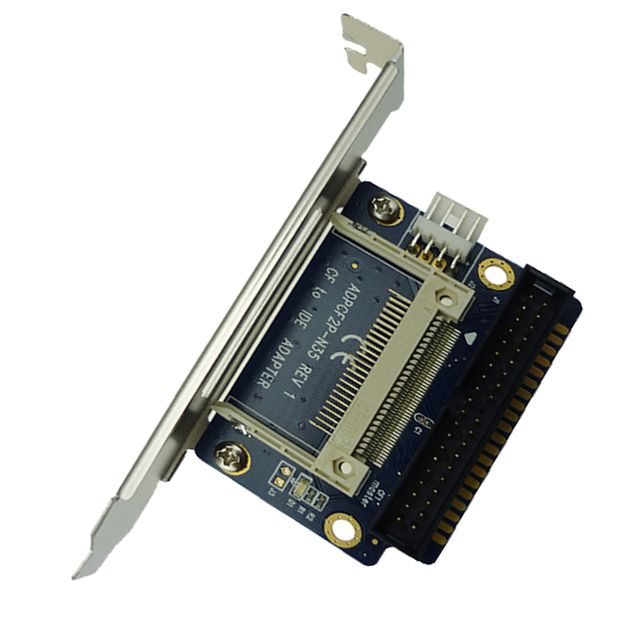 40Pin IDE to Compact Flash CF Adapter Converter with Bracket Back Panel ADP00208