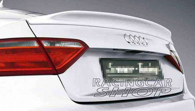 PAINTED CA STYLE TRUNK BOOT SPOILER Fit For AUDI A5 Sportback 4Door 2012UP  A027F