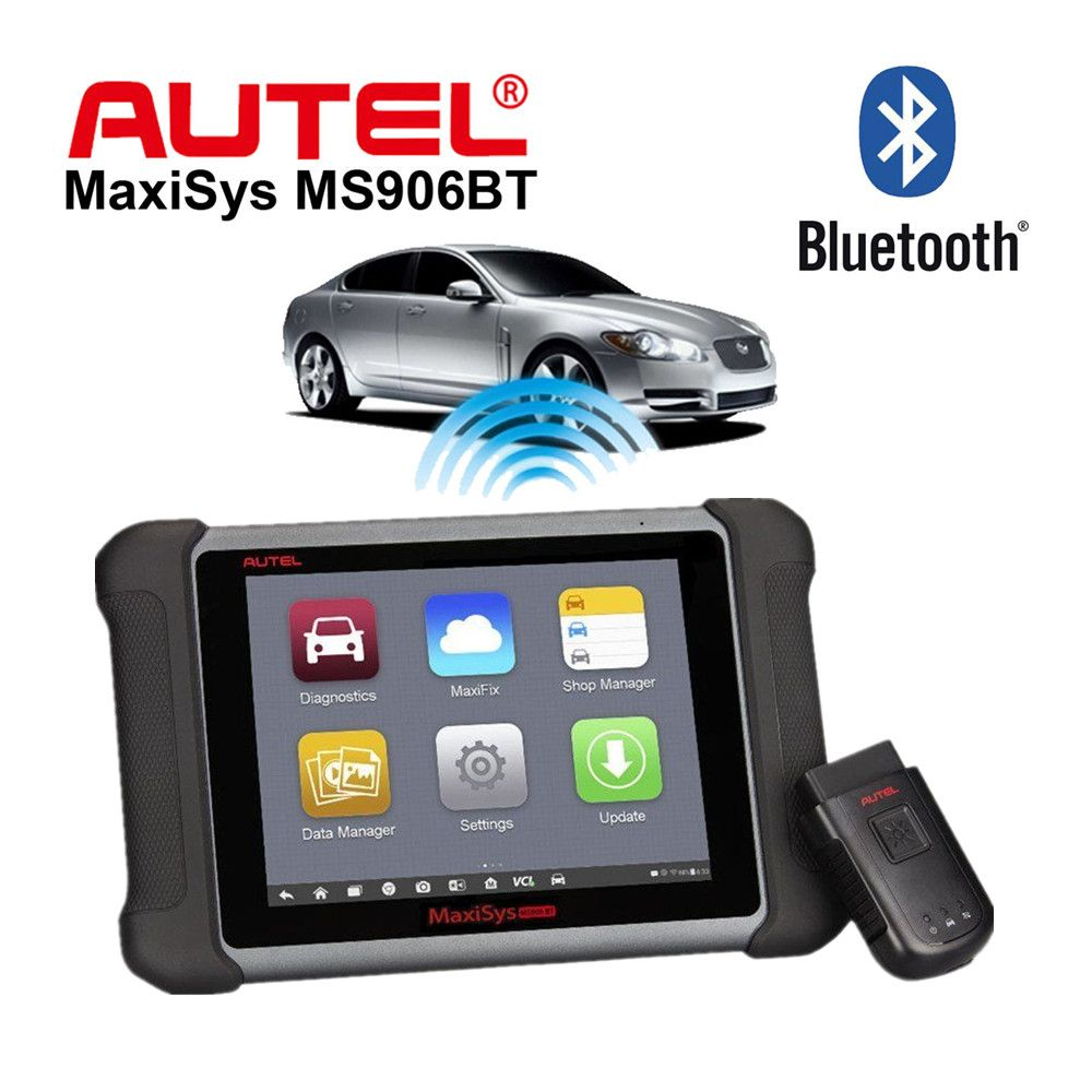 Autel MaxiSys MS906BT MaxiSys MS906 BT Auto Diagnostic Scanner Updated Version of Autel MaxiSys MS906 Wireless Diagnostic Tool
