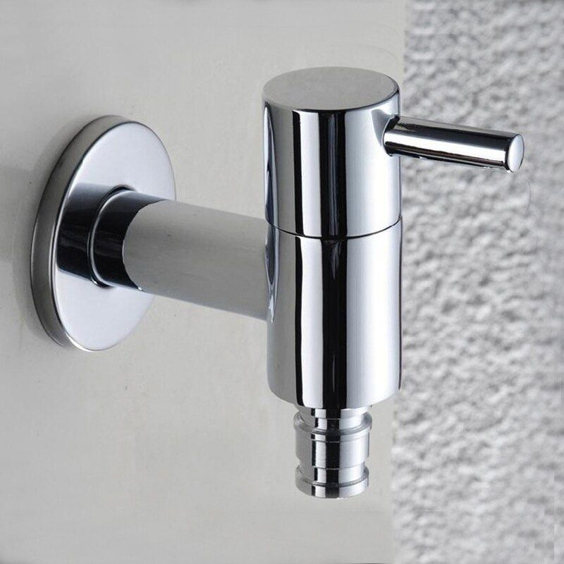 Bathroom & Washing Machine Tap Washing Machine Single Handle Washer Faucet,Cold Faucet,Copper Washer Tap