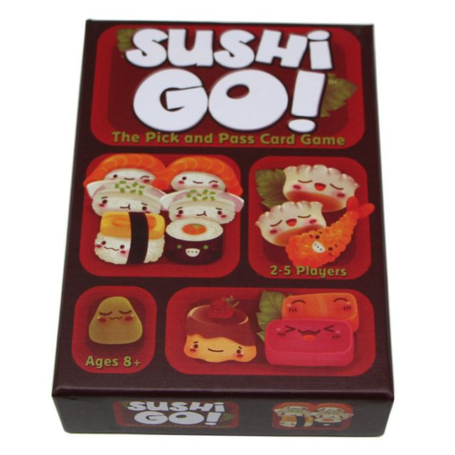 Sushi Go! Board Game The Pick And Pass Cards Game 2-5 Players Family Game For Children With Parents Free Shipping indoor games