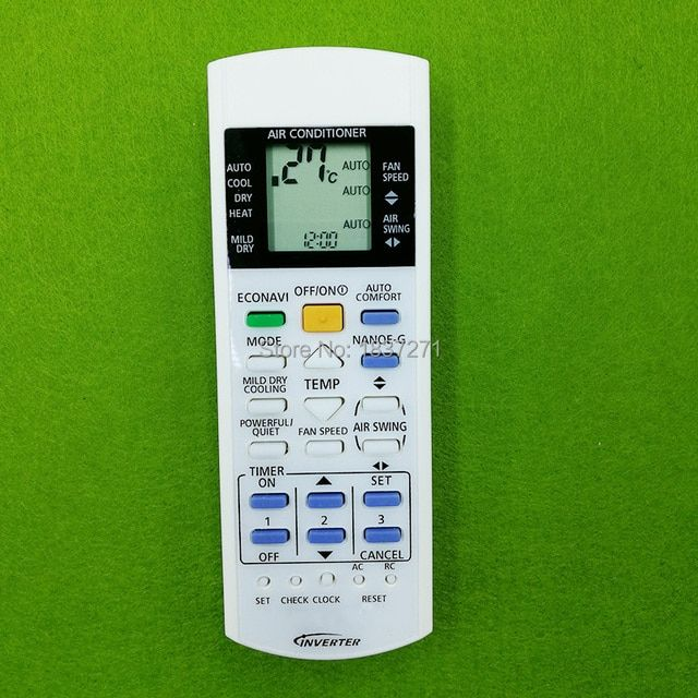 new remote control for Panasonic CS-S18PKH CS-S24PKH CS-S9NKV-7 CS-S12NKV-7 CS-S18NKV-7 CS-S22NKV-7 CS-S10PKP  air conditioner
