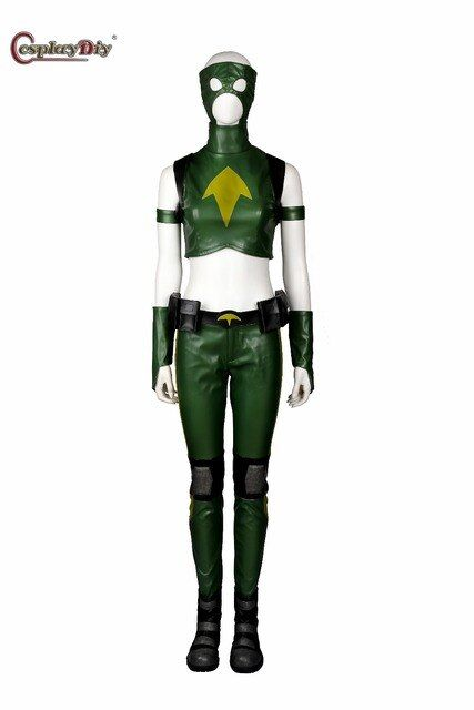 Cosplaydiy Young Justice Artemis Costume Adult Women Halloween Carnival Cosplay Anime Young Justice Costume Custom Made J5