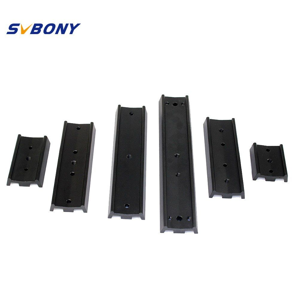 SVBONY Dovetail Telescope Mounting Plate 70/120/170/210mm for Equatorial Tripod Long Version Binocular/Monocular for Astronomy