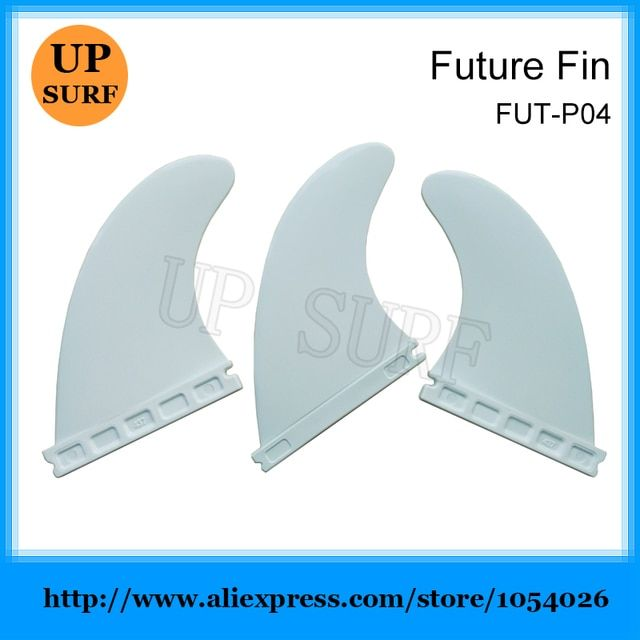 Quilhas Surfing Future G5 Fins  White Nylon Quad Fin Plastic M Size Surfboard Fins