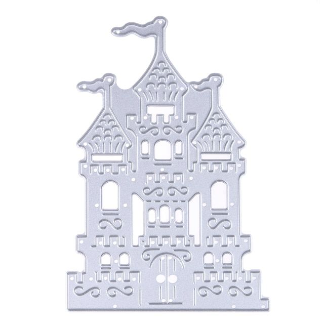 Castle Design Metal Die Cutting Dies Stencil For DIY Scrapbooking Embossing Folder Troqueles Fustella   Die Cuts