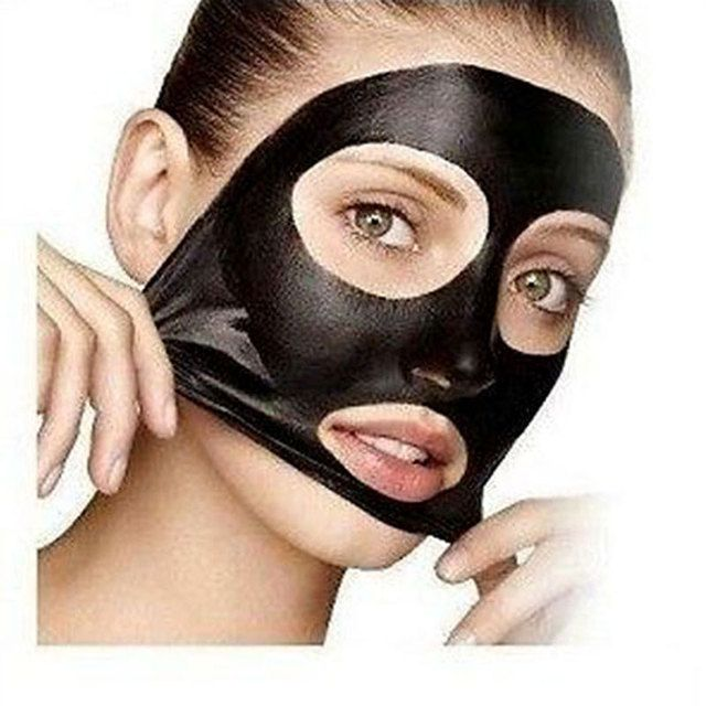 Best Selling Deep Cleansing Acne Purifying Peel Off Black Head Mud Face Mask Remove Blackhead Pore Strips Suction Black Mask