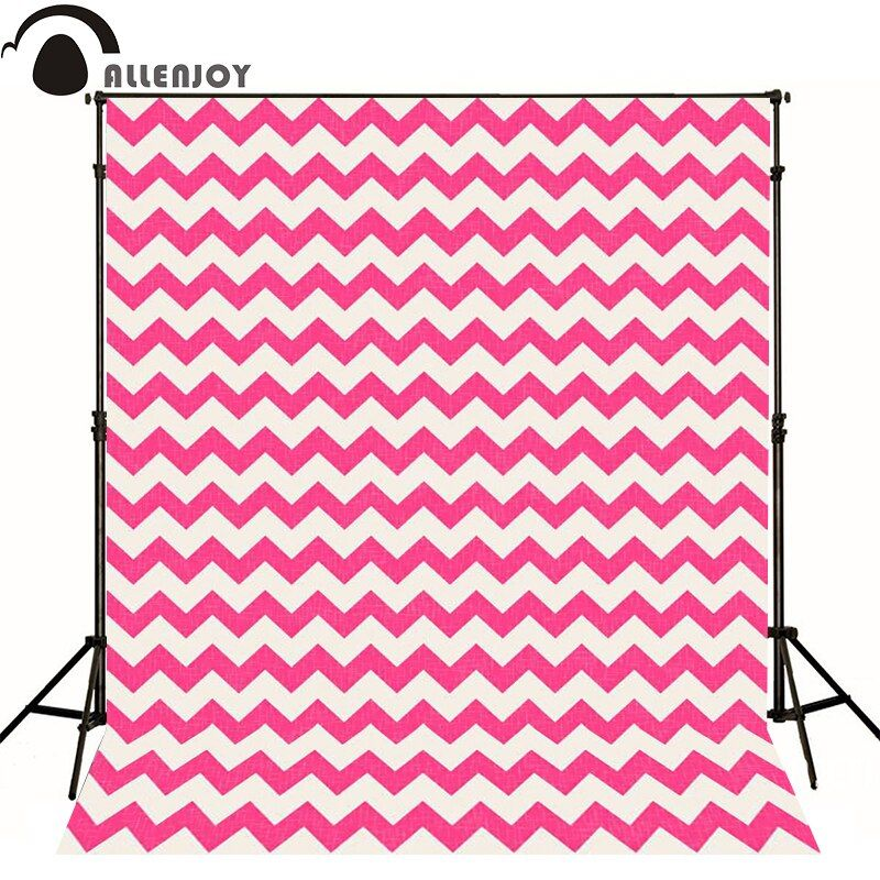 Allenjoy photography backdrops red seamless pattern chevron ornamental wallpaper newborn vinly photographic backgrounds studio