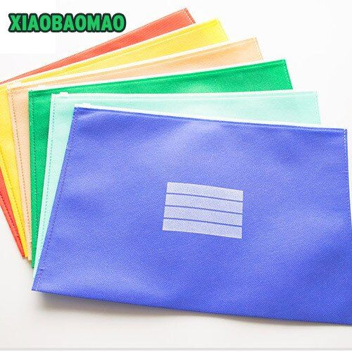 Special offer! Cute Color A4 Oxford Document Bag File Folder Stationery Organizer School / Office Stationery Wholesale