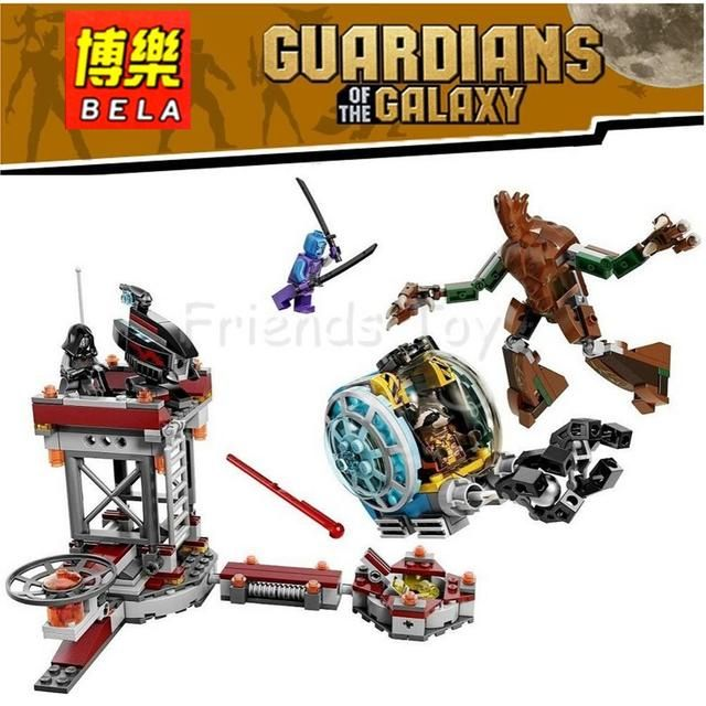 Guardians of the Galaxy Knowhere Escape Mission Set Building Toy Compatible With Lego 76020