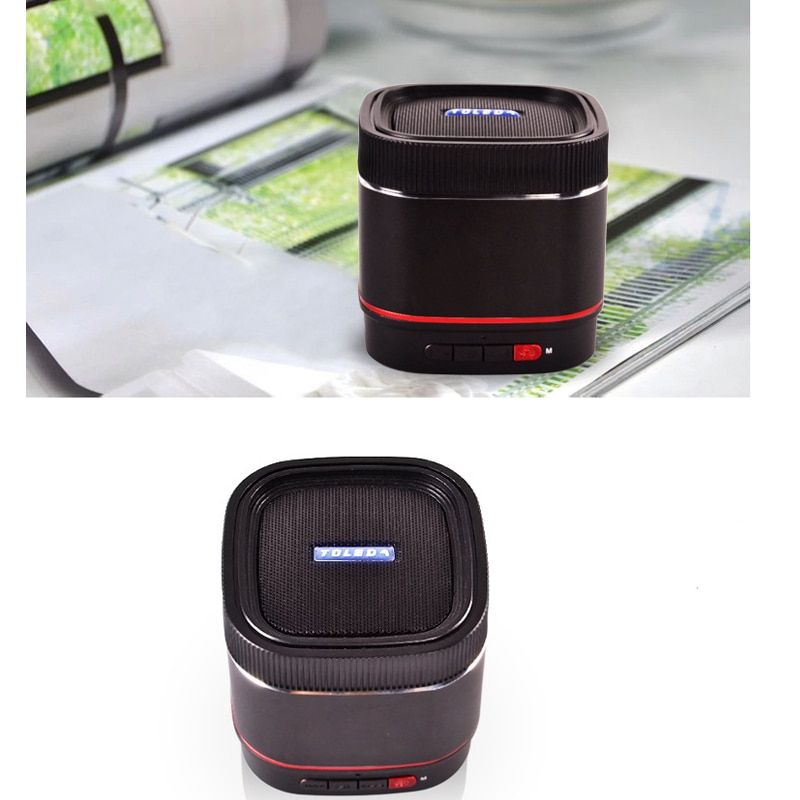 Portable Subwoofer Amplifier HIFI TLS22 Bluetooth Speaker Car Audio Speaker Support USB Micro For SD TF Line In Card MP3 Player
