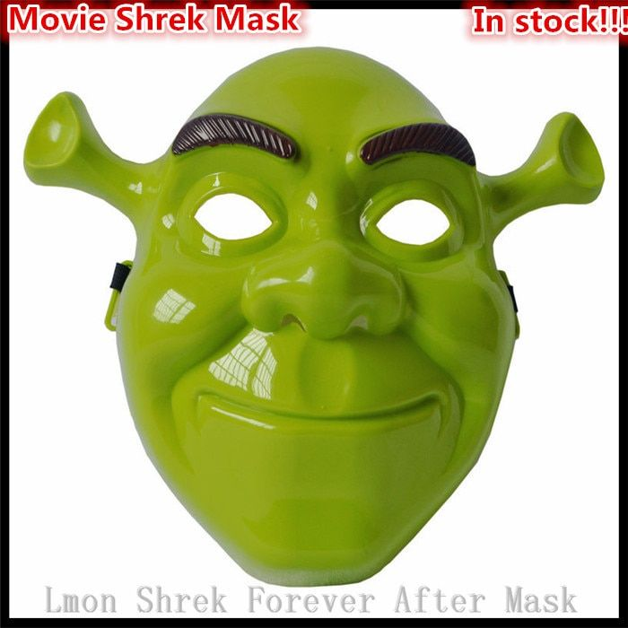 Children's Cartoon Movies Face Mask party performance dance Masquerade Mask animation Shrek mask For Party Coslay Gifts Toys