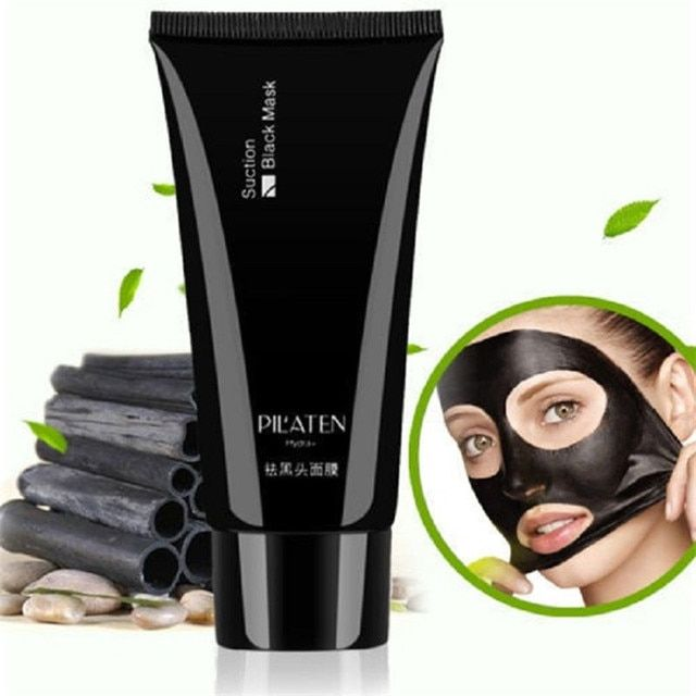 800pcs/lot PILATEN Deep cleaning purifying Peel off black head face mask Oil skin Acne remover blackhead Tube 60g
