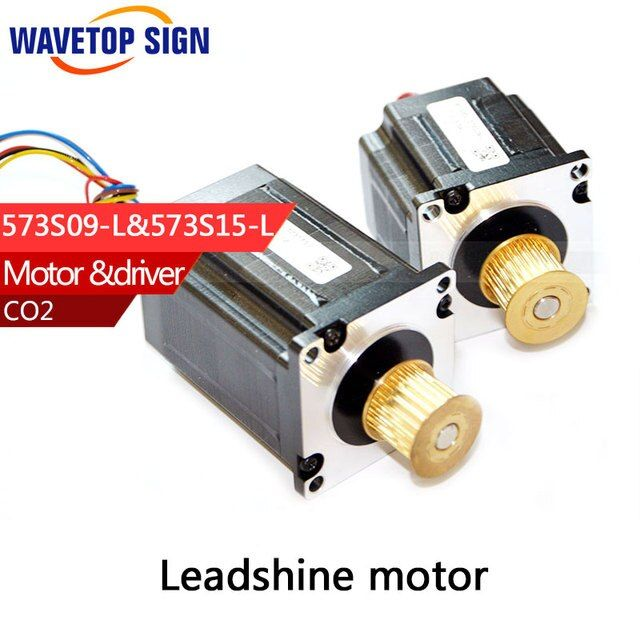 stepper  motor 573s09-L 1pcs  +573s15-L  1pcs  use HTD3M -15 belt