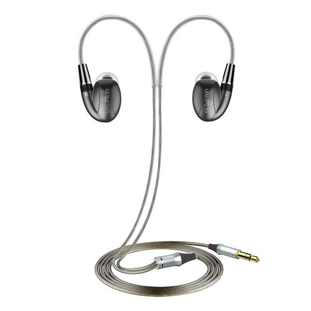 Hot MaGaosi K3 Pro In Ear Earphone 2BA Hybrid with Dynamic HIFI Earphone Earbud With MMCX Interface Headset Free Shipping