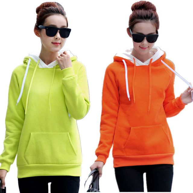 Women's Clothing Long Sleeve Hoodies Spring Autumn Winter Plus Size Sweatshirts Hoodie Cotton Sweatshirts Casual Women Hoodies