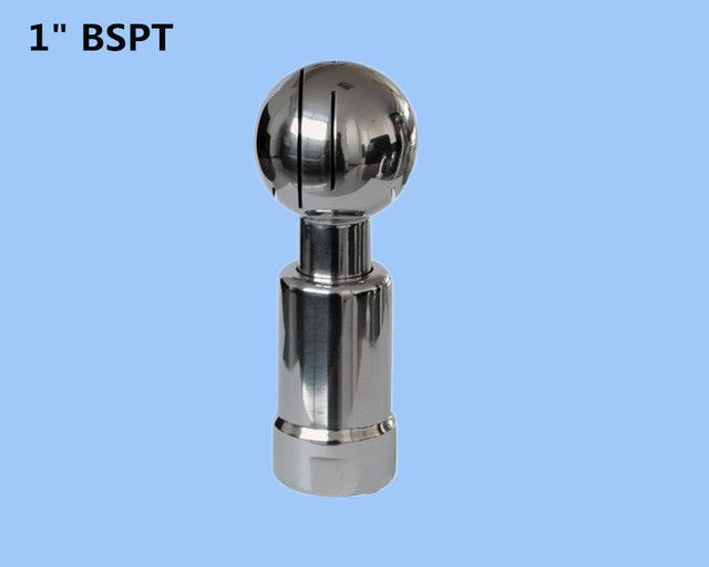 "1"" Stainless steel 304 rotating tank cleaning ball,thread rotary nozzle, Rotary Spray Ball for tank cleaning"