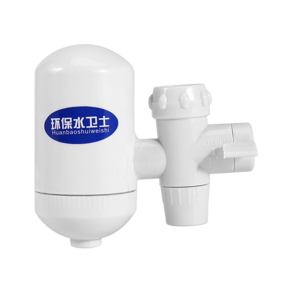 White High Technology Tap Faucet Water Filter Purifier with Ceramic Cartridge For Home Kitchen Faucet Healthy