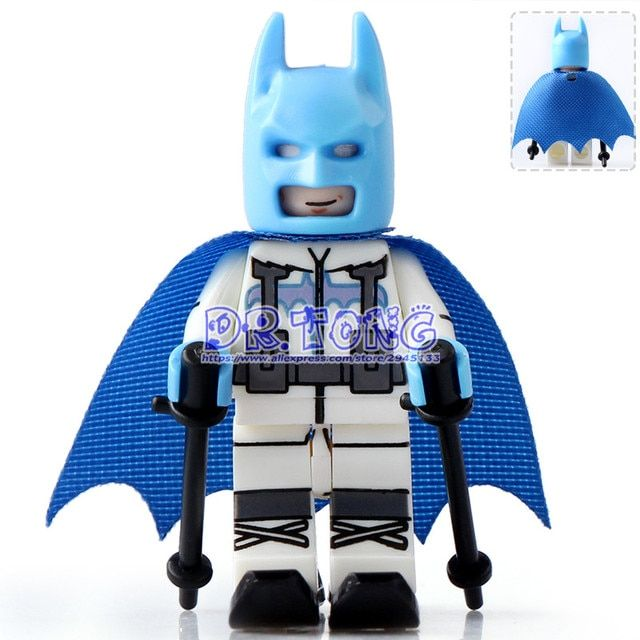 DR.TONG 20pcs/lot PG179 DC Super Heroes Batma Movies Batman with Ski Suit Building Blocks Diy Toys Children Gifts PG8047