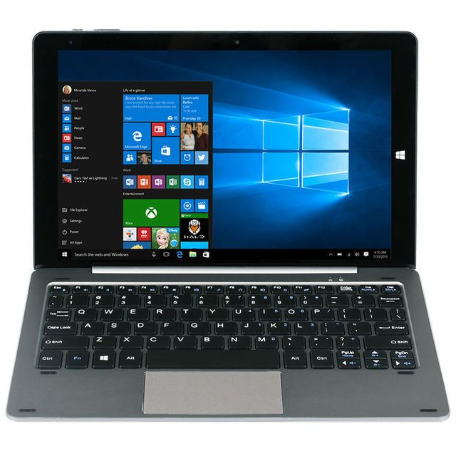 10.1 Inch OGS 2560*1600 Chuwi HIBook Pro Tablet PC Dual OS Windows10 Android 5.1 intel x5 Z8300 4G RAM 64G ROM Bluetooth HDMI