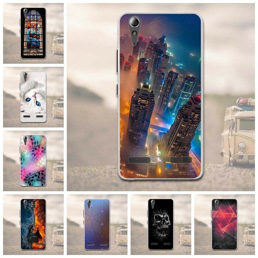 "Soft TPU Phone Case for Lenovo A6010 Plus & A6000 & for Lenovo Lemon K3 K30-T Cover Skin 5"" K 3 A 6000 6010 Case for Lenovo K3"