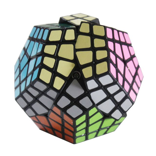 YKLWorld Newest Master-Kilominx Puzzle Magic Cube Challenging Twist Spring Puzzle Cubo Magico Learning Education Toy Black (W0