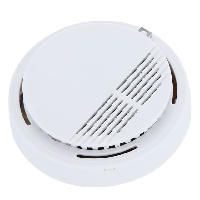High Sensitivity Stable Photoelectric Smoke Alarm Fire Smoke Detector Sensor Home Security System for Home