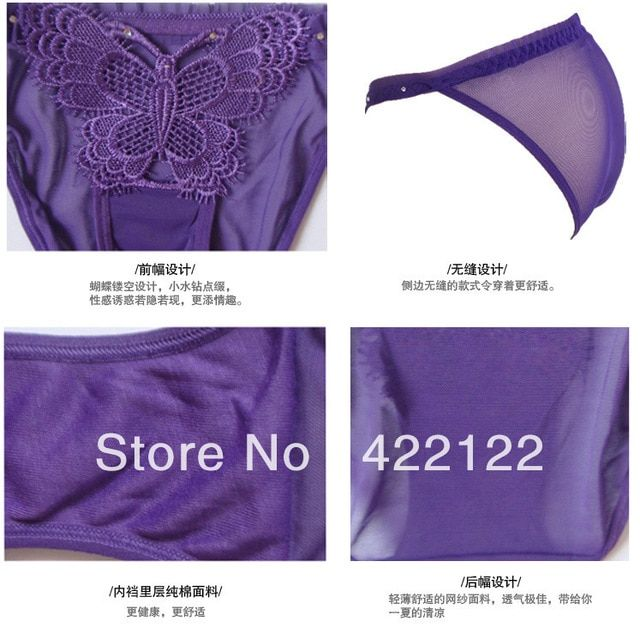 women cotton lace many color size sexy underwear/ladies panties/lingerie/bikini underwear pants/ thong/g-string DZ026-120pcs