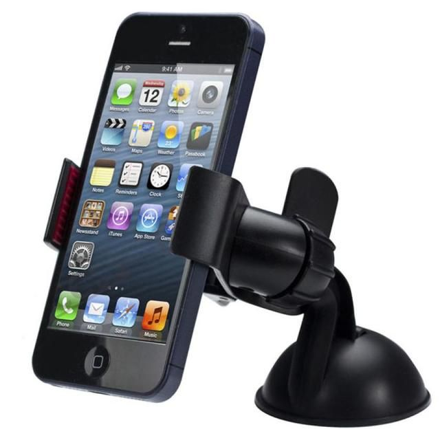 Top sale New Balck White Universal Car Holder Car Windshield Mount Holder phone For iPhone 6/7/8/X MP3 GPS for Samsung 0