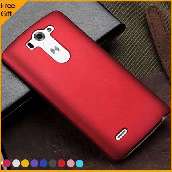 2014 New Matte Rubber Cover Hard Plastic Phone Case For LG G3 mini D722 D725 D728 D724 Case High Quality Simple With Free Gift