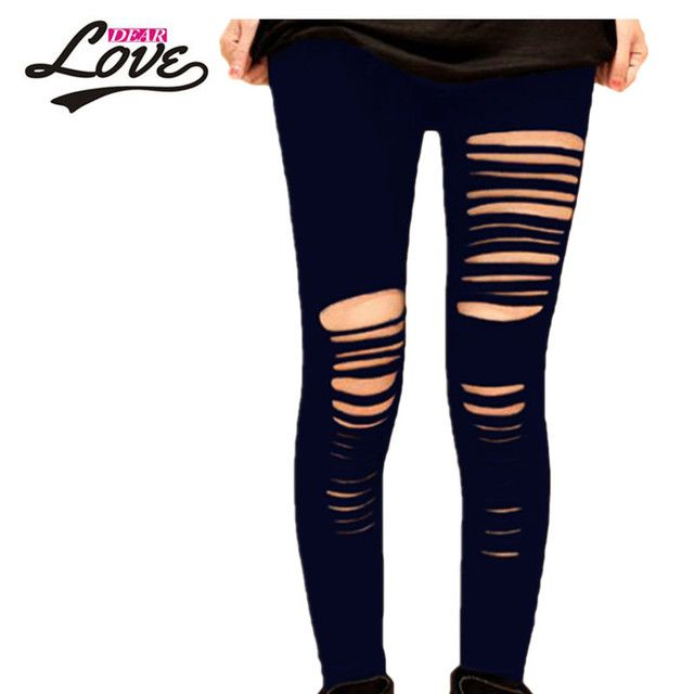 Dearlove women XXL summer leggings slim fit Elasticized waist Lightweight Fantasy Getting Ripped Legging long tees LC7826