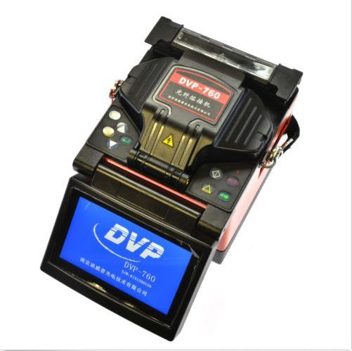 FTTH Fiber Optic Fusion Splicer DVP760 Single Core Optical Fiber Welding Machine