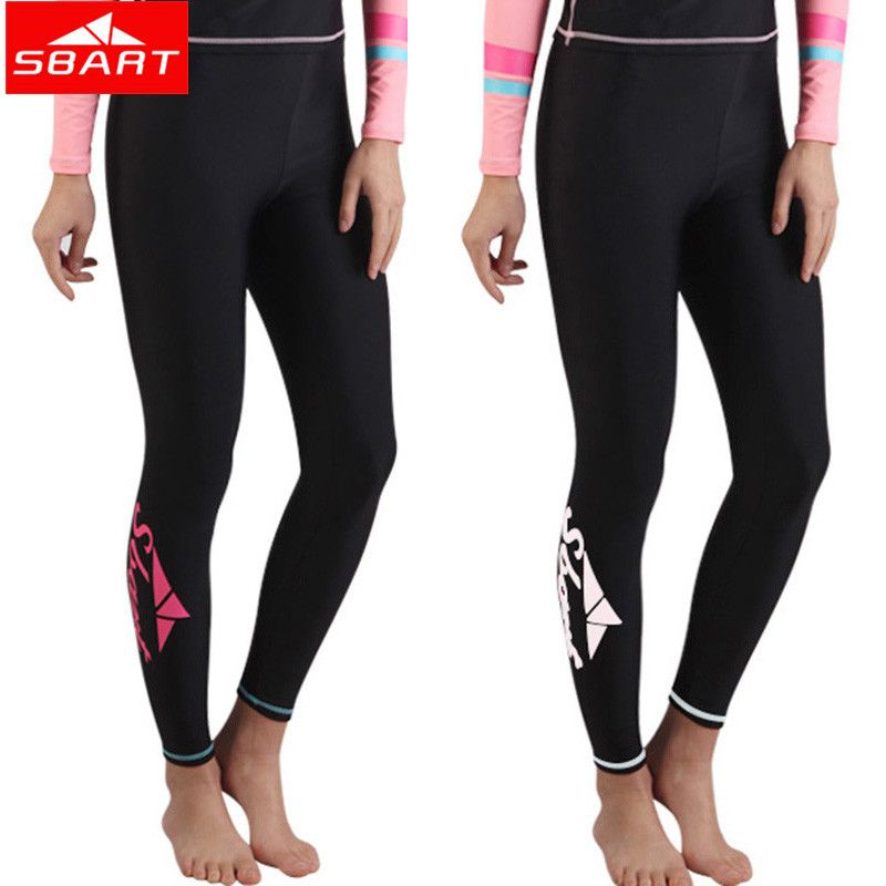 Sbart 2016 Plus Size Women Men Lycra Surfing Wetsuit Lycra Rashguard Tight Pants Swimsuit Anti-Jellyfish Snorkeling Trunks J